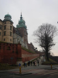 up the Wawel hill
