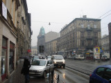 walking toward Kazimierz suburb