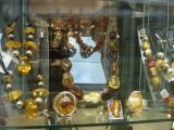amber, a major Polish export