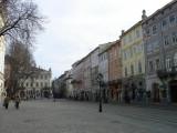 in the ploshka rynok (town square)