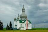Ukrainian church,Saskatchewan