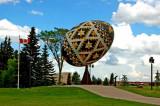 Ukrainian pysanka,Vegreville,Alberta