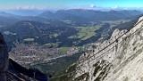 Mittenwald-Panorama, Blick vom Karwendel