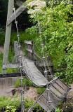 Suspension bridge destroyed - STILL 2 years later