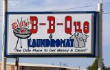Billy's B-B-Que and Laundromat