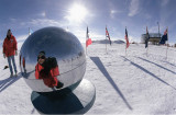 South Pole Self Portrait