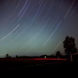 Northeast star trails
