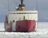 Icebreaker arrival