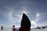 South Pole sundogs