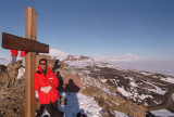 On the peak of Ob Hill, McMurdo Station, 1 a.m. local time