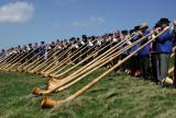 Alp Horn festival, Murren, Switzerland