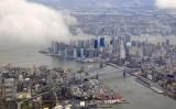 Lower Manhattan and Brooklyn
