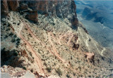 Switchbacks on South Kaibab Trail