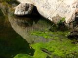 Boulder reflection in Queen Creek
