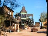 Goldfield Ghost Town. Bordello in background