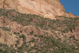 Truck climbing up Fish Creek Hill