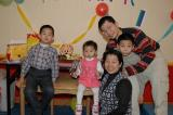 Kwong's family