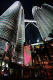 The Petronas Twin Towers (Velvia)