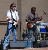 Joe Sharino band at the Gilroy Garlic Festival