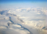 Aerial view, near Pond Inlet