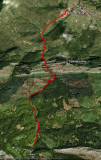 Mapa Ruta del Alba