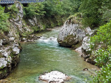 Río Cares desde el puente