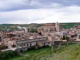 Vista de Berlanga desde el castillo