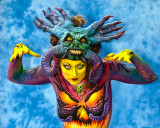 2009 World Bodypainting Contest General Photos from Each Day