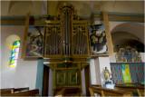Mougins - Orgel van de kerk  van Saint Jacques le Majeur