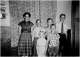 de kinderen Schuttelaar in 1957