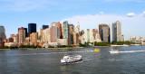 Manhattan west downtown Hudson river
