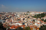 View of the city from Castelo de São Jorge