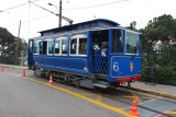 Tram up Tibidabo