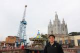 Amusement park and Temple de Sagrat Cor