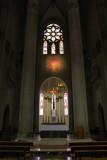 Inside the basillica of Temple de Sagrat Cor