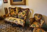 Gaudí museum furniture