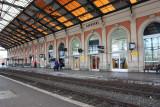 Narbonne train platform
