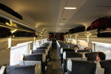 TGV 9804 from Narbonne to Toulouse, first class carriage 3