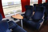 Corail Intercites 14056 first class Club 4 seats