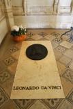 Da Vinci's grave, Château d'Amboise