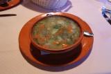 Telečja obara z drobnjakovimi žličniki: Veal stew with chive dumplings