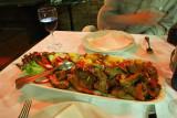 Dinner at Restoran Kaptolska Klet. 14 Apr 2009.