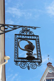 Town hall pharmacy sign