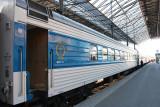 Tolstoi - Helsinki to Moscow sleeper