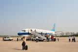 CZ6755 (733) in Dandong Airport