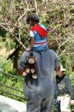 Two Monkey's at the SD Zoo