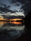 Sunset, Norway Bay, Quebec