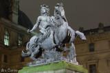 La statue équestre de Louis XIV