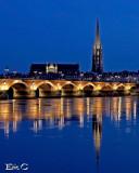 Bordeaux la nuit...