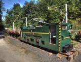 Historic mining train from the HADIR company
